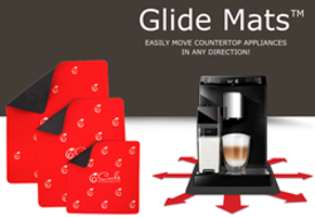 Latest Glide Mats from Cooks Innovations Protects Countertops, Tables and Floors from Scratches