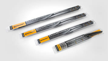 New ClearContact Windshield Wiper Blades from Continental Resists UV Light and Harsh Environmental Conditions