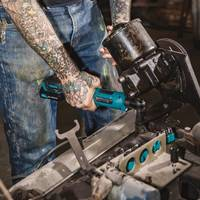 Latest 12V MAX CXT Cordless Ratchet from Makita Comes with Rubberized Soft Grip