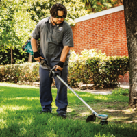 New LXT Brushless Cordless String Trimmer from Makita Comes with Three Speed Options