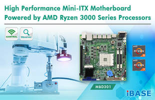 New MBD301 Mini-ITX Motherboard Designed with High-speed I/O Connectivity