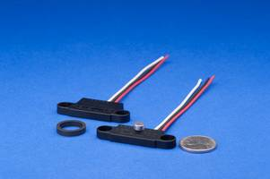 New Magnetic Rotary Position Sensors with Compact and Flat Housing