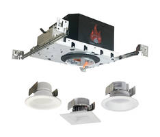 New Two-Hour Fire-Rated Downlight Housings are IC-Rated and cULus Listed