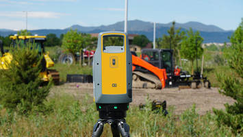 New X7 3D Laser Scanning System Features Smart Trimble X-Drive Technology