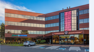 CENTRIA Formawall® and Integrated Formavue Windows Enhance Salish Cancer Center Exterior