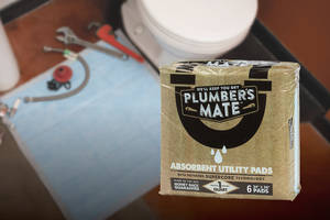 New Absorbent Pads Available in Cases of Seven 6-packs