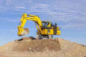 New PC2000-11 Hydraulic Excavator with Large Capacity Air Conditioning System
