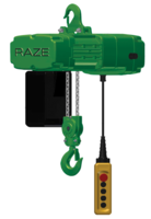 New Electric Chain Hoist Available in Capacities From 1/8 to 5 tons