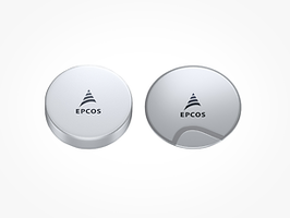 New EPCOS Ultrasonic Sensor Disks Available in Diameters of 5 mm and 7 mm