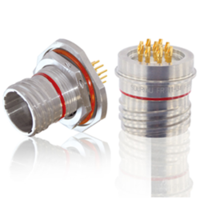 New D38999 Hermetic Connectors Features Glass Sealing and Stainless Steel Shells