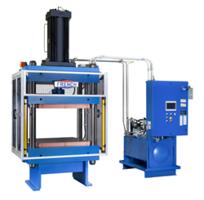New 200 Ton Hydraulic Press for Compression Molding Composite Materials