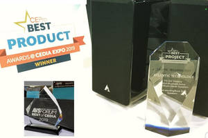 SKAA-Enabled Atlantic Technology Speakers Win Multiple Awards During CEDIA Expo 2019