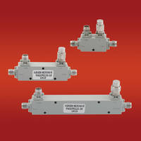 New High Frequency Couplers Feature Coaxial Design