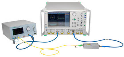 New Network Analyzer for R&D and Production of Opto-electronic Component