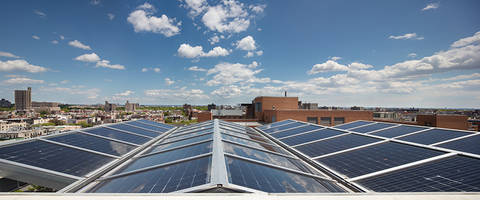New SKYGARD 2500 Series Skylight Uses Recycled Aluminum frames