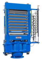 New Multi-Opening 600 Ton Hydraulic Press Comes with Color Touchscreen Operator Interface