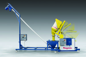 New Dumper-Conveyor System Allows Dust-free Dumping of Bulk Solid Materials