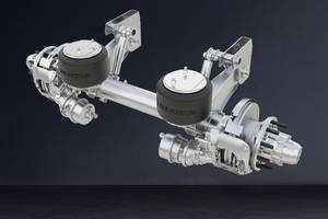 New MTA-Tec6 Suspension Built with Meritor's 6 in. Diameter MTec6 Axle