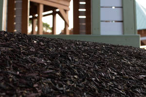 New SpectraTurf's Loose Rubber and Bonded Rubber Mulch use Recycled Rubber Material
