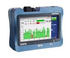 New Optical Wave Expert Tester from EXFO Diagnoses and Fixes Faults