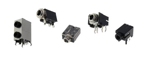 New Audio Jacks Available in Mid Mount SMT and Through Hole Mounting Styles
