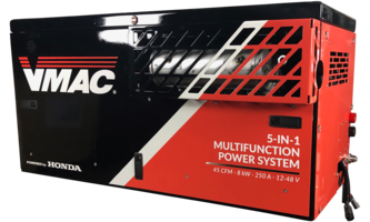 New Multifunction Power System from VMAC Powered by V-Twin Gas Engine
