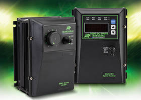 New DC Drives Programmable with Adjustable Parameters