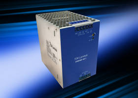 New AC-DC DIN Rail Mount Power Supply Delivers 48V at 10A