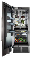 New 30 in. Perlick Collection Column Refrigerator Designed for Preservation and Display of Foods