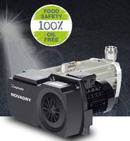 New Oil-Free Vacuum Pump from Leybold is Ideal for Food Industry