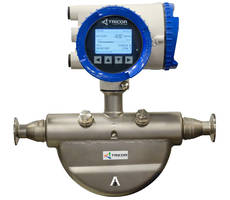 AW-Lake Receives 3-A Sanitation Certification of TRICOR PRO Plus Coriolis Mass Flow Meters for Food and Beverage Processing