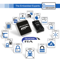 SEGGER Supports Renesas' New ARM-based RA Family of Microcontrollers