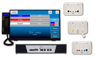 New Tek-CARE400 P5+ Nurse Call System is UL 1069 and UL 2560 Listed
