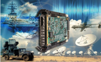 New 3U VPX Board Includes Optional High-bandwidth Connections