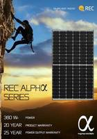 New REC Alpha Series Solar Panel with 60-Cell