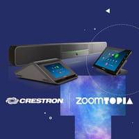 New Crestron Flex Communications Solutions Come with Zoom Rooms Software