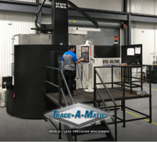 New HNK VTC 16/20R CNC Vertical Turning Center Features Live Tooling