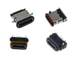 New Waterproof USB Connectors Available in USB Micro and Type C Receptacle Formats