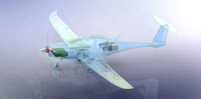 TURBOTECH Revolutionizes Hybrid-Electric Aircraft with ANSYS