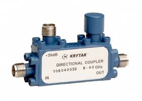 New Directional Coupler from KRYTAR Comes with 2.4 mm Female Connectors