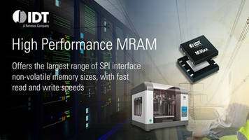 IDT Offers Avalanche Technology's MRAM Devices to Complement its Broad Range of Semiconductor Devices