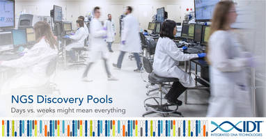 New NGS Discovery Pools are Ideal Tool for Minimal Residual Disease Testing in Solid Tumors