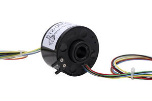 New Slip Rings from Orbex Incorporate Proprietary Channeled Brush Technology