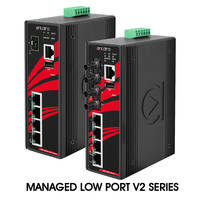 Antaira Announces Hardware Update V2 to Small Port Count Managed Ethernet Switches