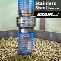 New Line Vac Conveyors Feature Large Throat Diameters