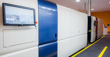 New Jet520HD High-speed Full Color Inkjet Presses Feature an Advanced Dryer unit