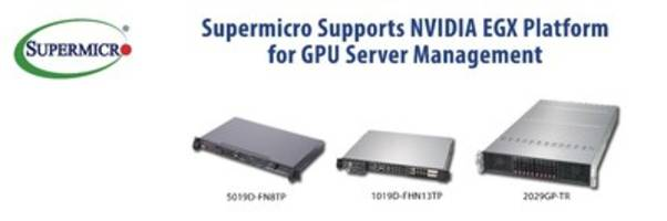New Edge Servers from Supermicro Can Manage GPU Servers Networks