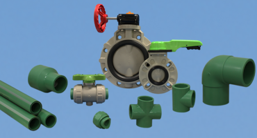 New Butterfly and Ball Valve Meets Pressure and Temperature Guidelines