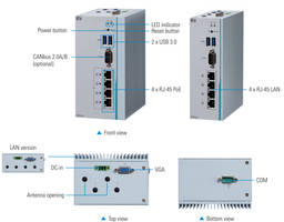 New ICO320-83C Fanless DIN-Rail Embedded System Comes with Onboard RTC Battery