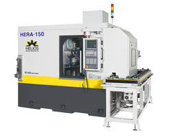 Hera 150 CNC Gear Hobbing Machine from Helios Comes with Electro-Mechanical Interlock